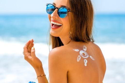 गर्मियों में सनस्क्रीम