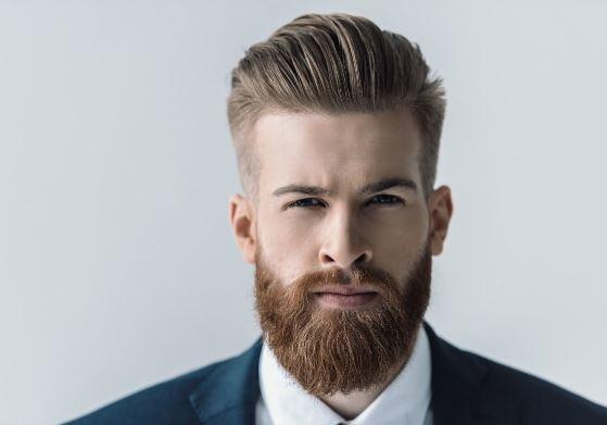 लम्बी घनी दाढ़ी (beard)