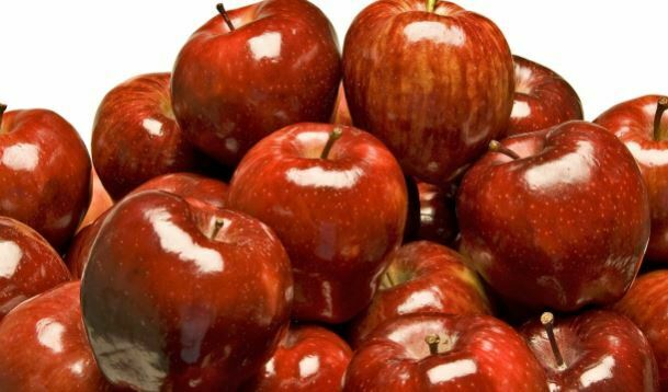 सेब में वैक्स (मोम)