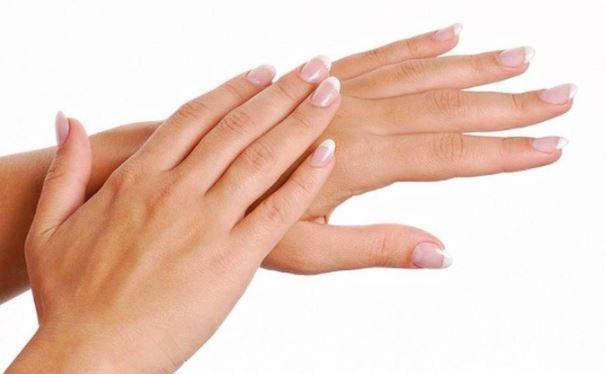 हथेलियों (हाथ) रूखापन