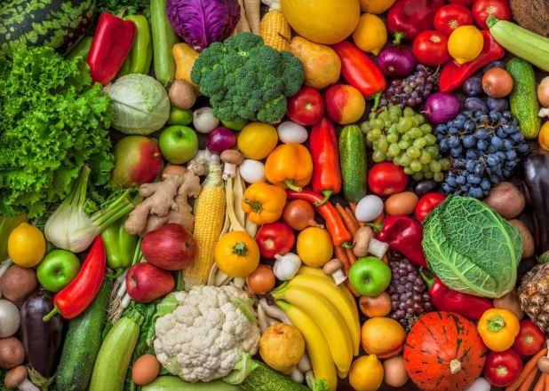 लॉकडाउन फल और सब्जियों