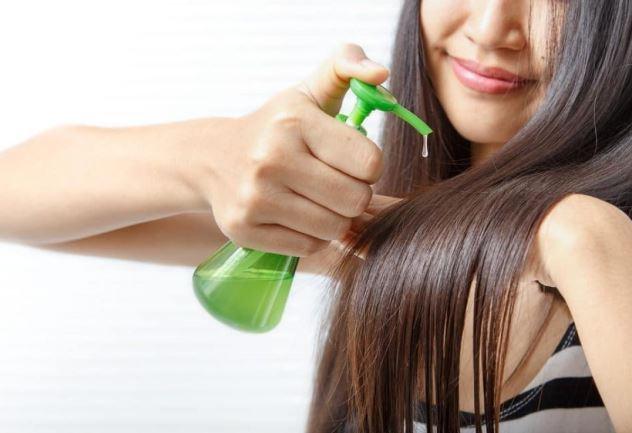 बालों को सीधा करने