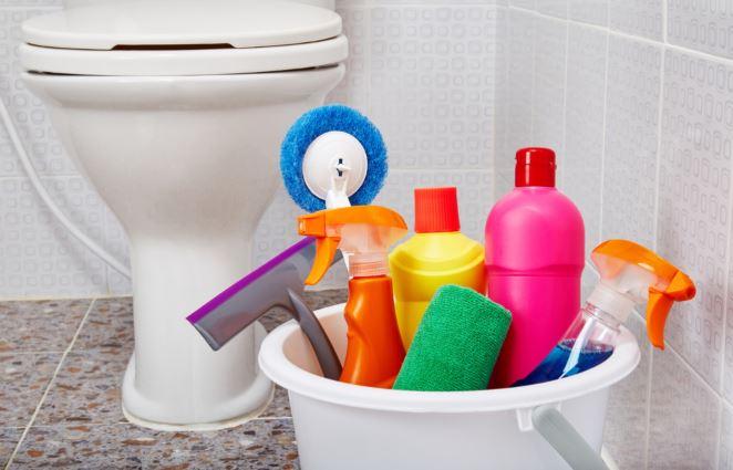 बाथरूम साफ-सफाई