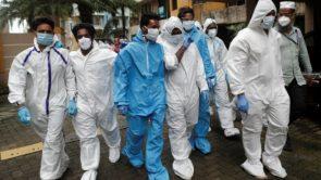 पिछले 24 घंटे में देश में आए कोरोना वायरस के रिकॉर्ड 90,632 मामले, जल्द ही ब्राजील से आगे होगा भारत।