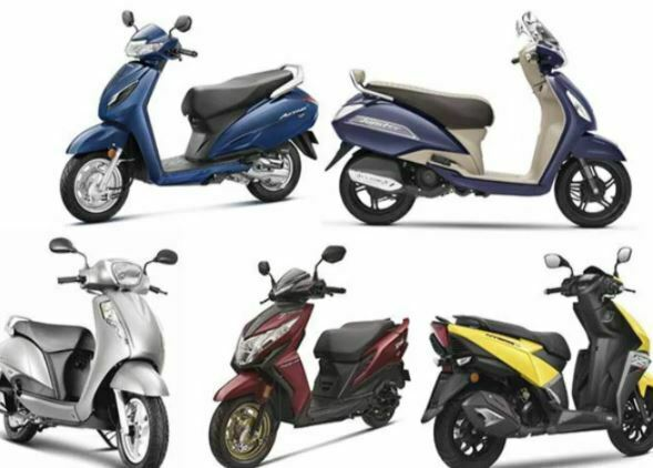 best scooty in india