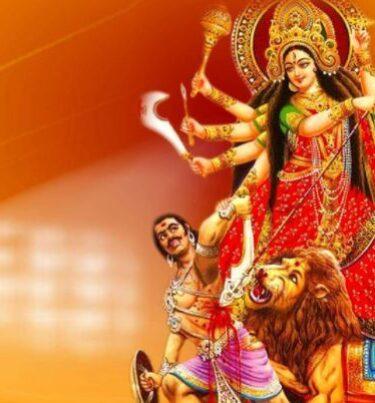 10 lines on durga puja in hindi : दुर्गा पूजा पर 10 लाइन निबंध।
