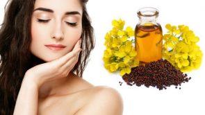 चेहरे पर सरसों के तेल का इस्तेमाल : Mustard oil benefits for skin in hindi