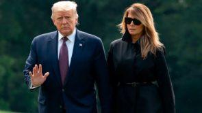 अमेरिकी राष्ट्रपति डोनाल्ड ट्रंप और उनकी पत्नी मेलानिया ट्रंप कोरोना वायरस से संक्रमित।